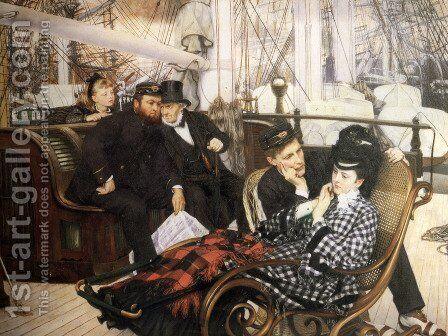 The Last Evening by James Jacques Joseph Tissot - Reproduction Oil Painting