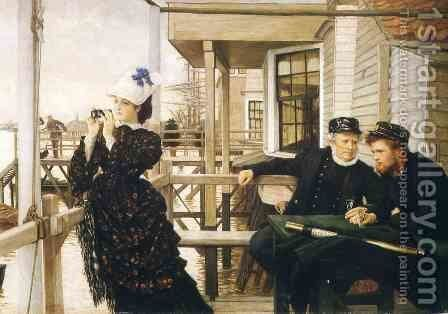 The Captain's Daughter by James Jacques Joseph Tissot - Reproduction Oil Painting