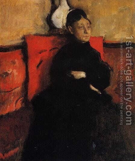 Duchesse de Montejasi-Cicerale by Edgar Degas - Reproduction Oil Painting