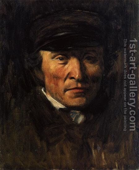 Jerome Ottoz by Edgar Degas - Reproduction Oil Painting