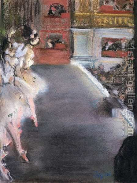 Dancers at the Old Opera House by Edgar Degas - Reproduction Oil Painting
