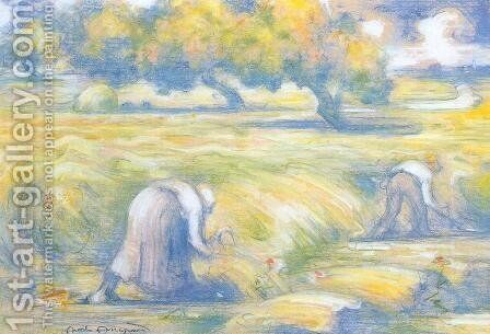Wheat by Charles Angrand - Reproduction Oil Painting