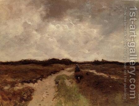 Crossing the Heath by Anton Mauve - Reproduction Oil Painting