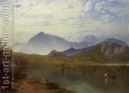 Coniston Water, Lake District by James Baker Pyne - Reproduction Oil Painting