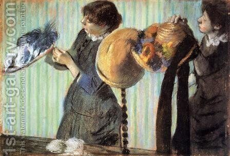 The Little Milliners by Edgar Degas - Reproduction Oil Painting