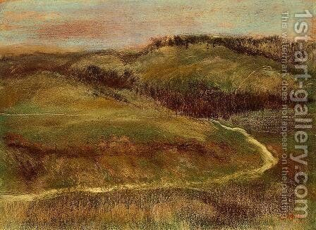 Landscape II by Edgar Degas - Reproduction Oil Painting