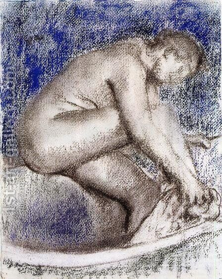 The Bath I by Edgar Degas - Reproduction Oil Painting