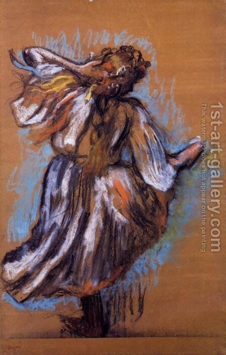 Russian Dancer by Edgar Degas - Reproduction Oil Painting
