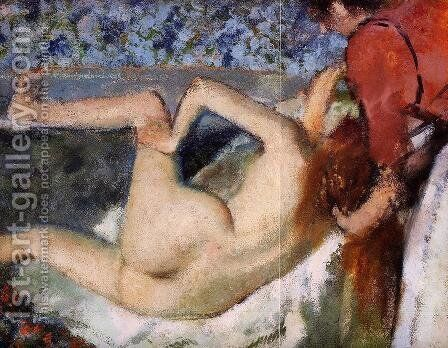 The Bath II by Edgar Degas - Reproduction Oil Painting