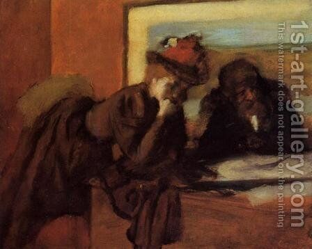 Conversation by Edgar Degas - Reproduction Oil Painting