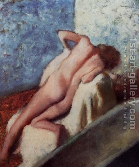 After the Bath X by Edgar Degas - Reproduction Oil Painting