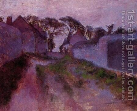 At Saint-Valery-sur-Somme by Edgar Degas - Reproduction Oil Painting