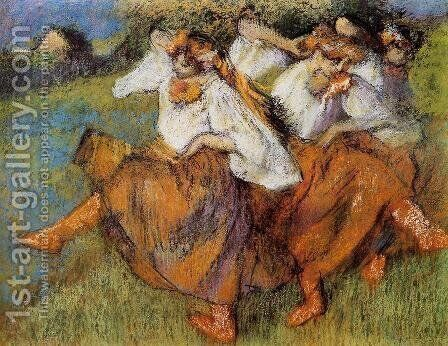 Russian Dancers by Edgar Degas - Reproduction Oil Painting