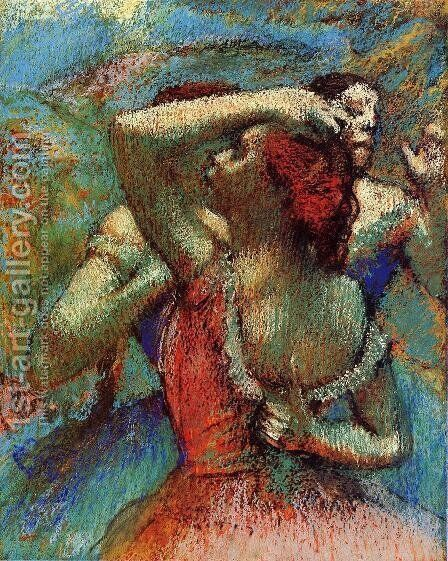 Dancers VI by Edgar Degas - Reproduction Oil Painting