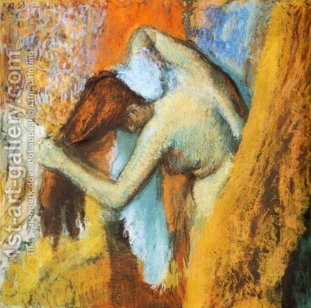 Woman at Her Toilette III by Edgar Degas - Reproduction Oil Painting