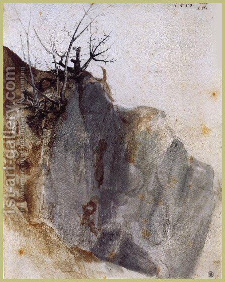 A  Quarry by Albrecht Durer - Reproduction Oil Painting