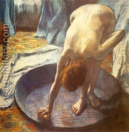 The Tub I by Edgar Degas - Reproduction Oil Painting