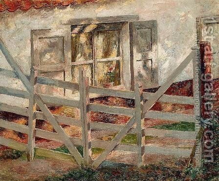 The Gate by Emil Claus - Reproduction Oil Painting