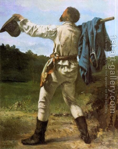 The Homecoming by Gustave Courbet - Reproduction Oil Painting