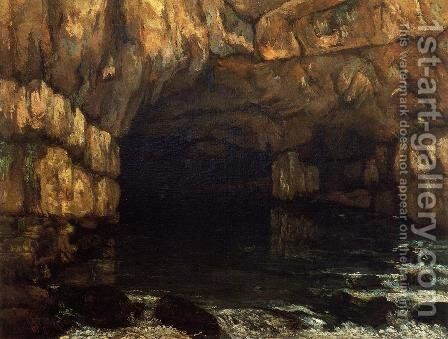The Source of the Loue by Gustave Courbet - Reproduction Oil Painting