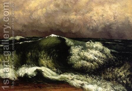 The Wave I by Gustave Courbet - Reproduction Oil Painting