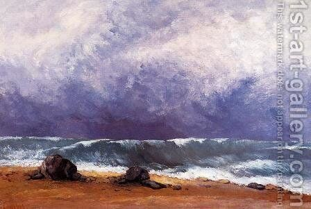 The Wave IV by Gustave Courbet - Reproduction Oil Painting