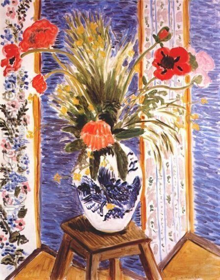 Poppies - Fireworks by Henri Matisse - Reproduction Oil Painting