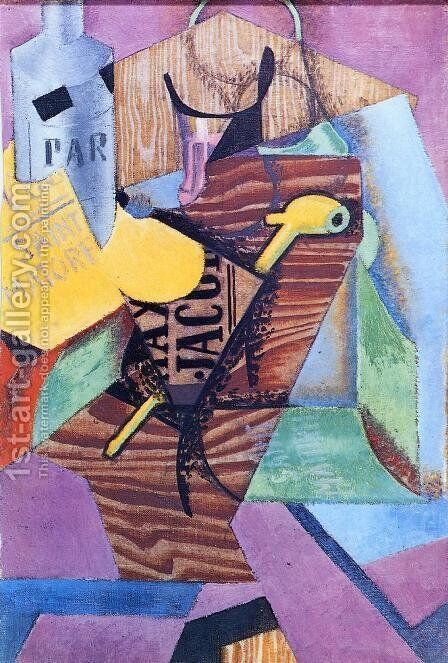 Saint-Matorel by Juan Gris - Reproduction Oil Painting