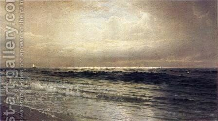 Seascape by William Trost Richards - Reproduction Oil Painting