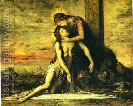 Pieta by Gustave Moreau - Reproduction Oil Painting
