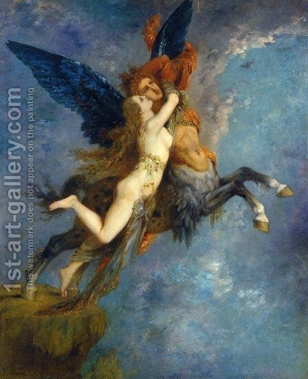 The Chimera by Gustave Moreau - Reproduction Oil Painting