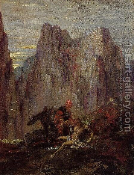 The Good Samaritan by Gustave Moreau - Reproduction Oil Painting