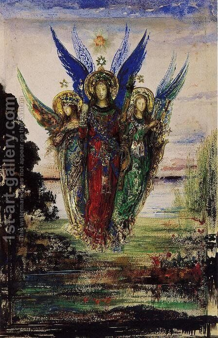 Evening Voices by Gustave Moreau - Reproduction Oil Painting