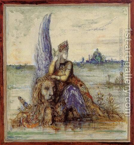 Venice by Gustave Moreau - Reproduction Oil Painting