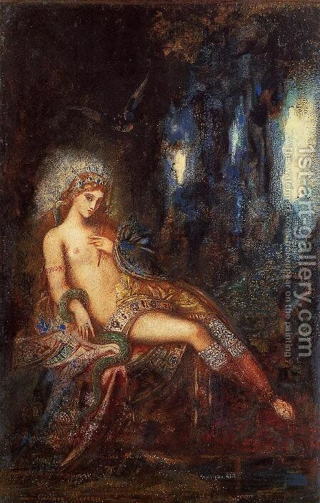 Goddess on the Rocks by Gustave Moreau - Reproduction Oil Painting