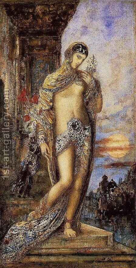 The Song of Songs I by Gustave Moreau - Reproduction Oil Painting