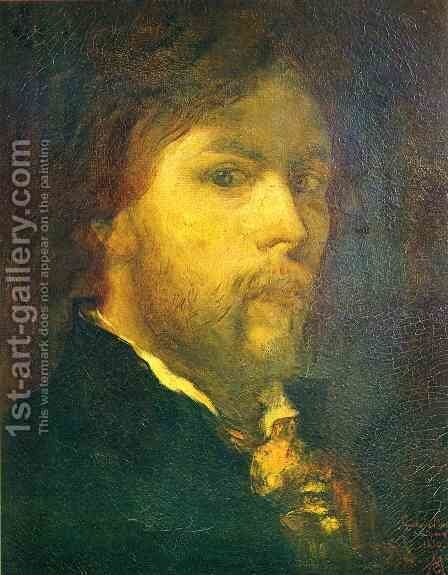Self Portrait by Gustave Moreau - Reproduction Oil Painting