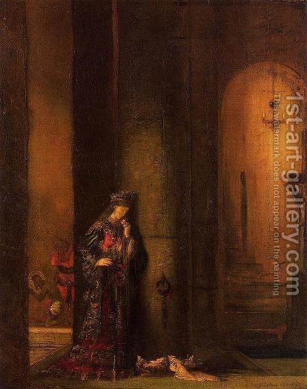 Salome in Prison by Gustave Moreau - Reproduction Oil Painting