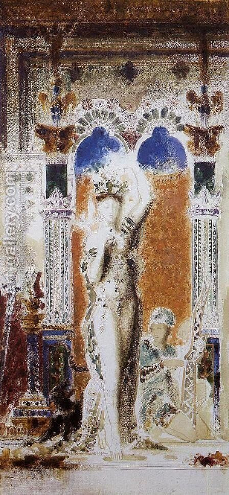 Salome by Gustave Moreau - Reproduction Oil Painting