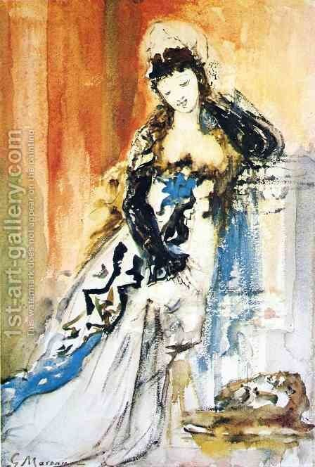 Salome I by Gustave Moreau - Reproduction Oil Painting