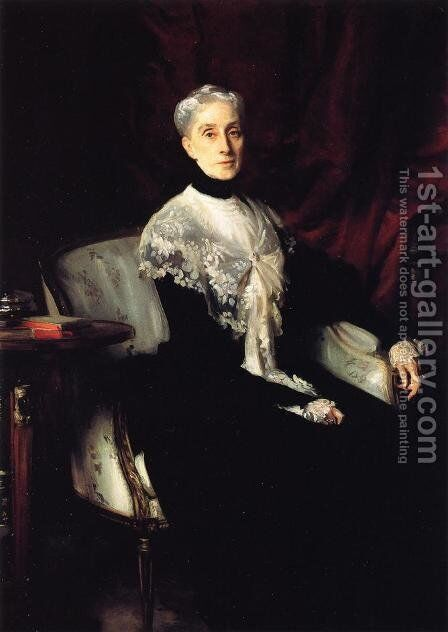 Mrs. William Crowninshield Endicott by Sargent - Reproduction Oil Painting