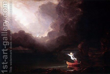 The Voyage of Life: Old Age by Thomas Cole - Reproduction Oil Painting