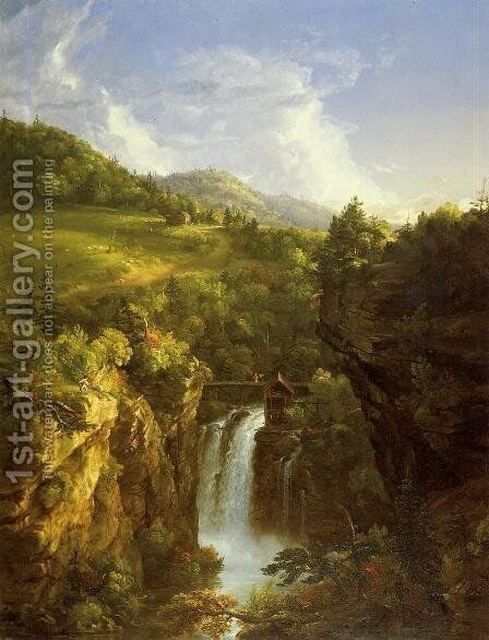 Genesee Scenery by Thomas Cole - Reproduction Oil Painting