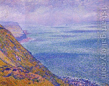 The Cap Gris Nez, Foggy Weather by Theo van Rysselberghe - Reproduction Oil Painting