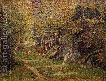 The Dom Forest by Adrien Josef Heymans - Reproduction Oil Painting