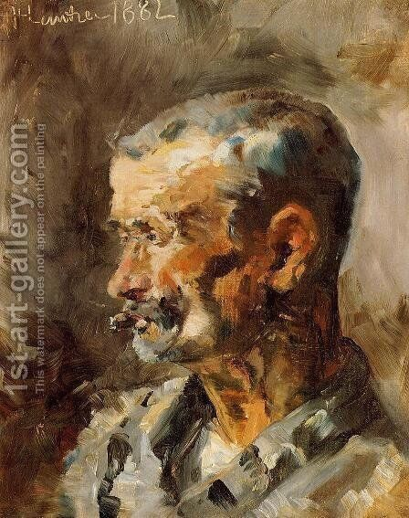A Worker at Celeyran by Toulouse-Lautrec - Reproduction Oil Painting