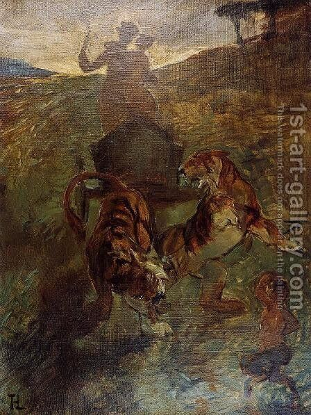Allegory: Springtime of Life by Toulouse-Lautrec - Reproduction Oil Painting