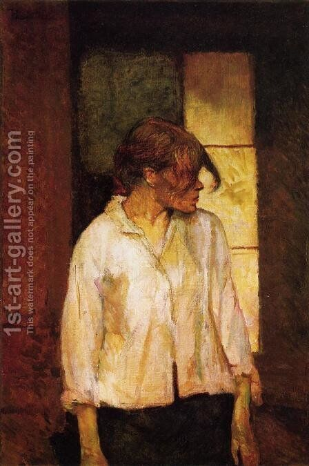 At Montrouge by Toulouse-Lautrec - Reproduction Oil Painting