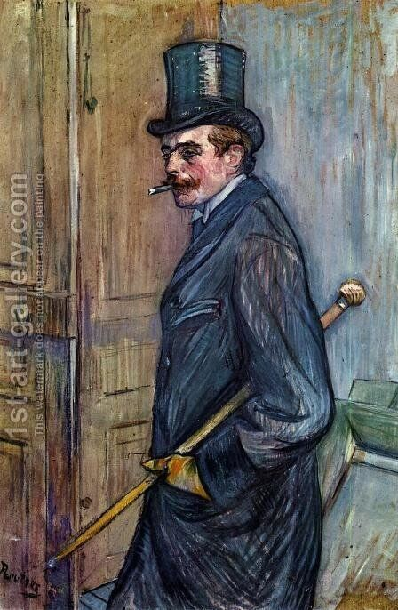 Louis Pascal I by Toulouse-Lautrec - Reproduction Oil Painting