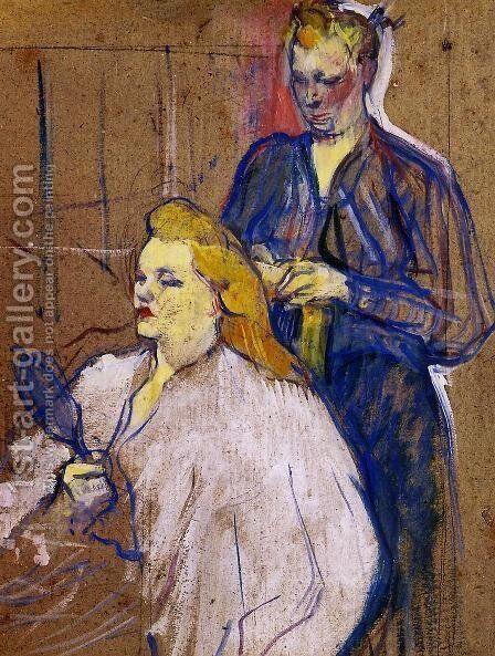 The Haido by Toulouse-Lautrec - Reproduction Oil Painting